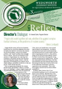 Wedgworth Class X Seminar III Newsletter